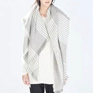 Zara Soft Blanket Shawl